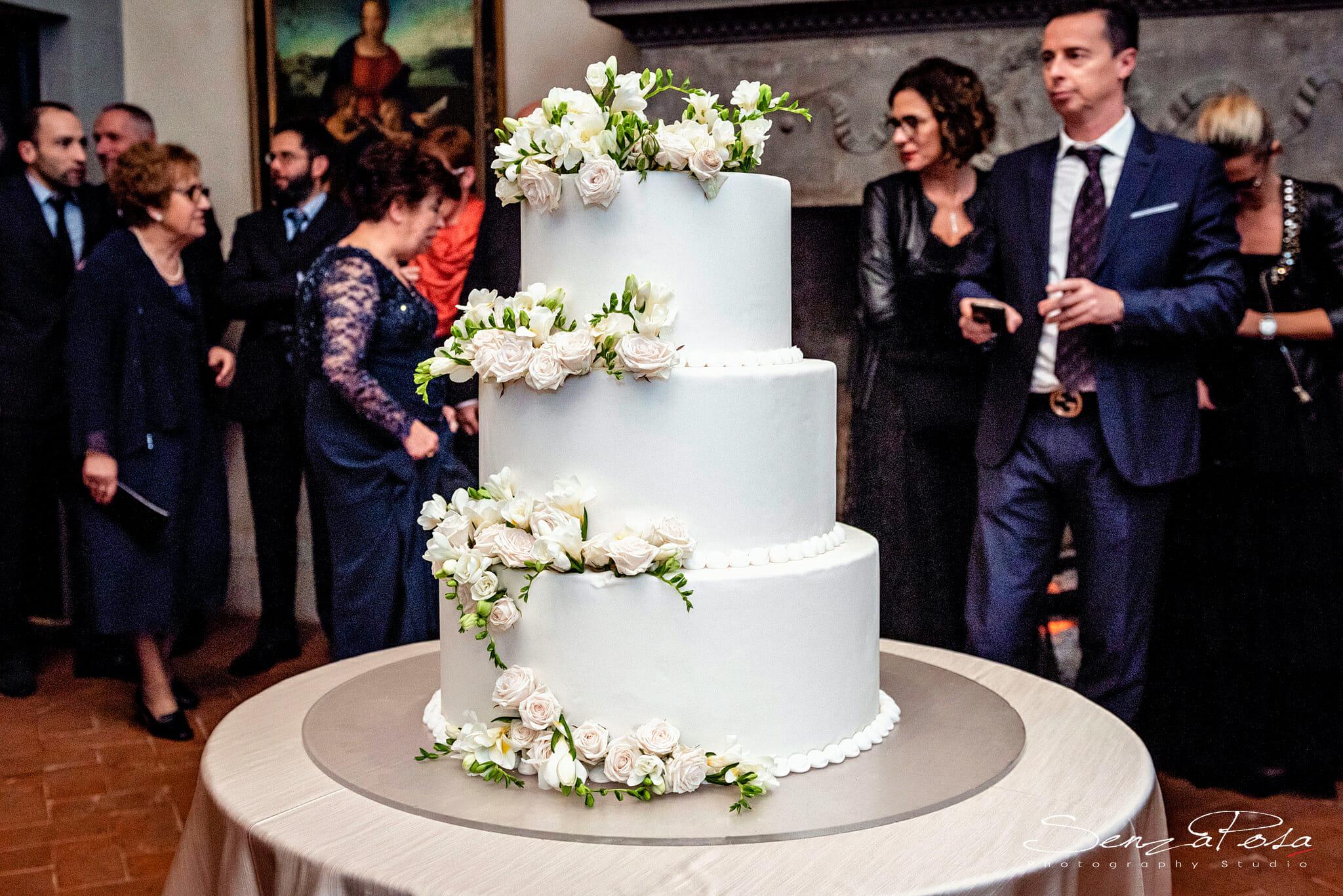 torta nuziale fiesole